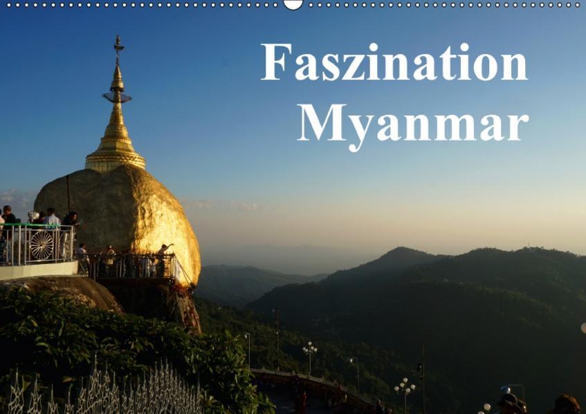 Faszination Myanmar (Wandkalender 2017 DIN A2 quer) - Coverbild
