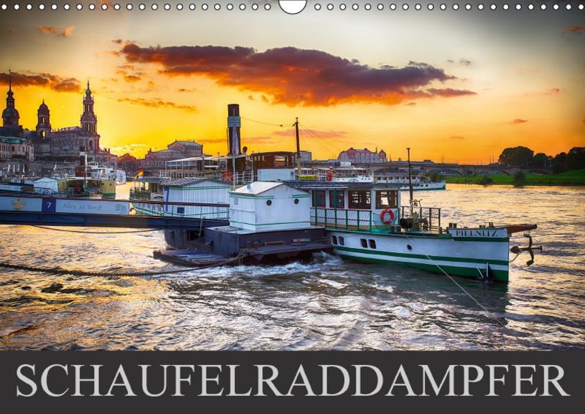 Schaufelraddampfer (Wandkalender 2017 DIN A3 quer) - Coverbild