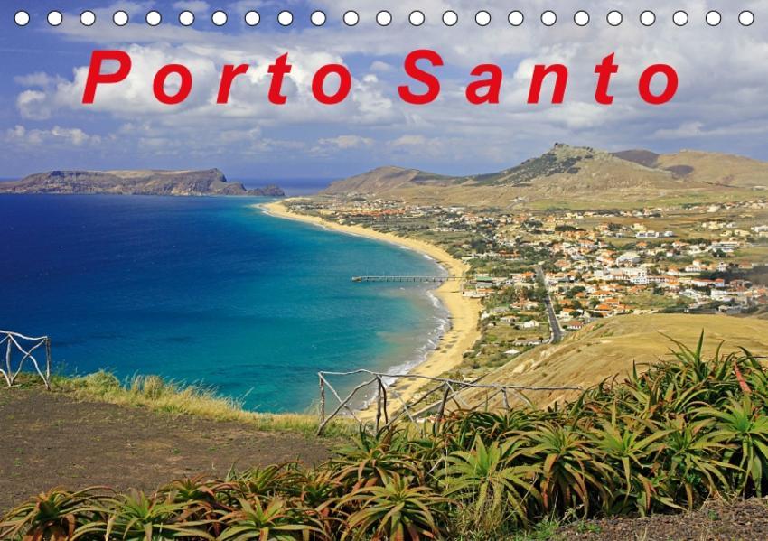 Porto Santo (Tischkalender 2017 DIN A5 quer) - Coverbild