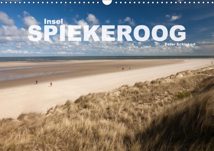 Insel Spiekeroog (Wandkalender 2017 DIN A3 quer) - Coverbild