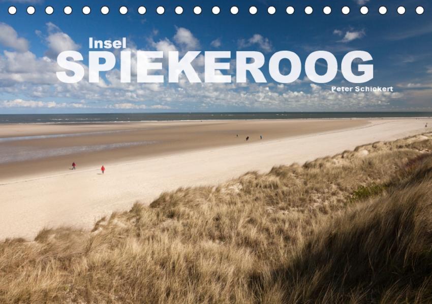 Insel Spiekeroog (Tischkalender 2017 DIN A5 quer) - Coverbild