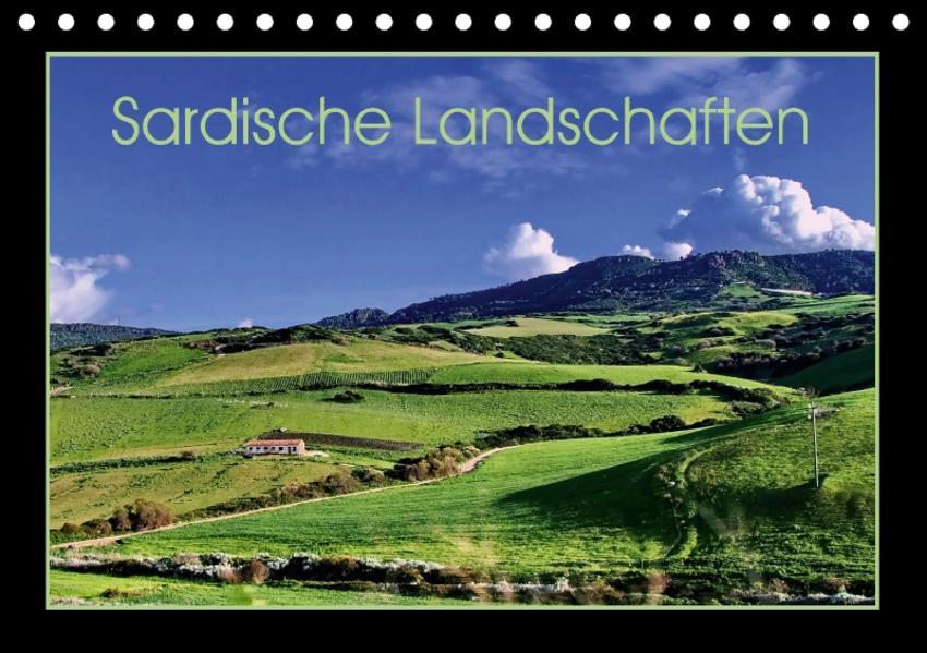 Sardische Landschaften (Tischkalender 2017 DIN A5 quer) - Coverbild