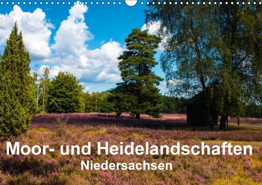 Moor- und Heidelandschaften Niedersachsen (Wandkalender 2017 DIN A3 quer) - Coverbild