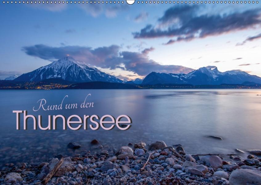 Rund um den ThunerseeCH-Version  (Wandkalender 2017 DIN A2 quer) - Coverbild
