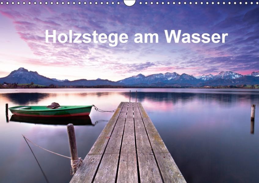 Holzstege am Wasser (Wandkalender 2017 DIN A3 quer) - Coverbild