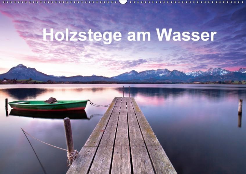 Holzstege am Wasser (Wandkalender 2017 DIN A2 quer) - Coverbild