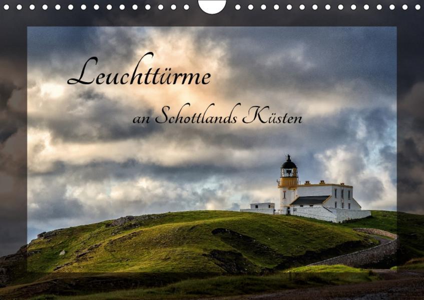 Leuchttürme an Schottlands Küsten (Wandkalender 2017 DIN A4 quer) - Coverbild