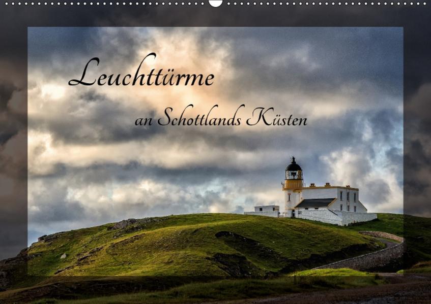 Leuchttürme an Schottlands Küsten (Wandkalender 2017 DIN A2 quer) - Coverbild