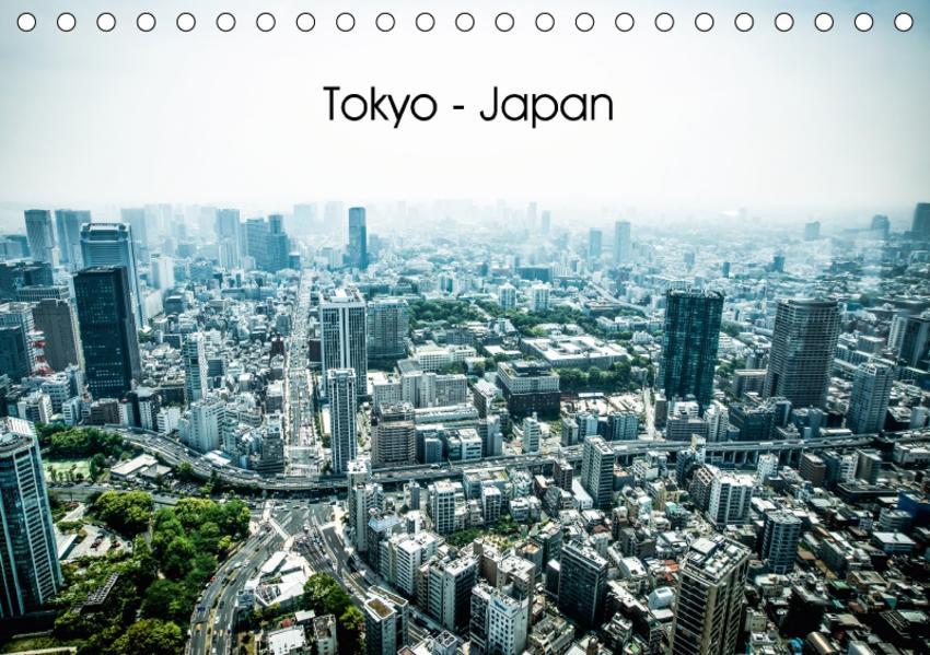 Tokyo - Japan (Tischkalender 2017 DIN A5 quer) - Coverbild