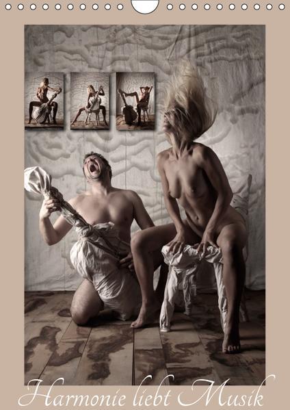 Harmonie liebt Musik (Wandkalender 2017 DIN A4 hoch) - Coverbild
