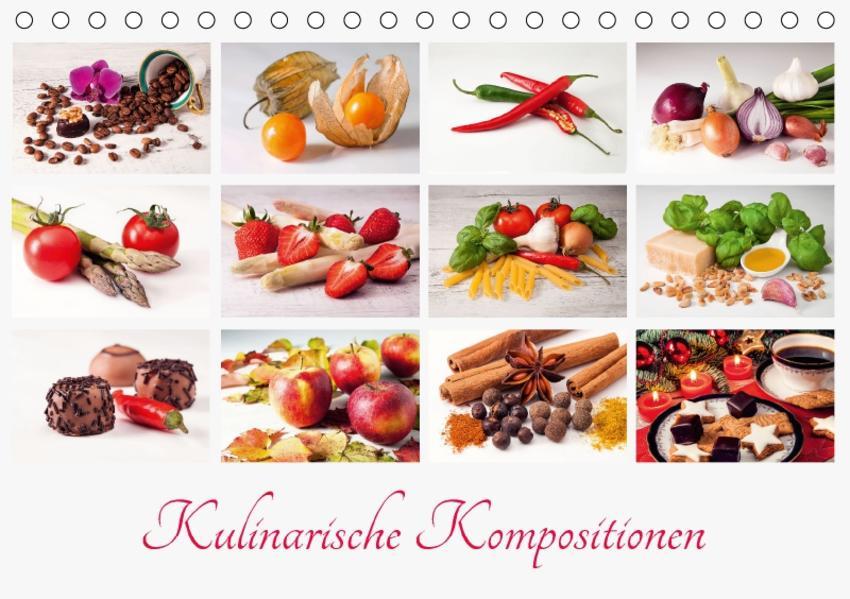 Kulinarische Kompositionen (Tischkalender 2017 DIN A5 quer) - Coverbild