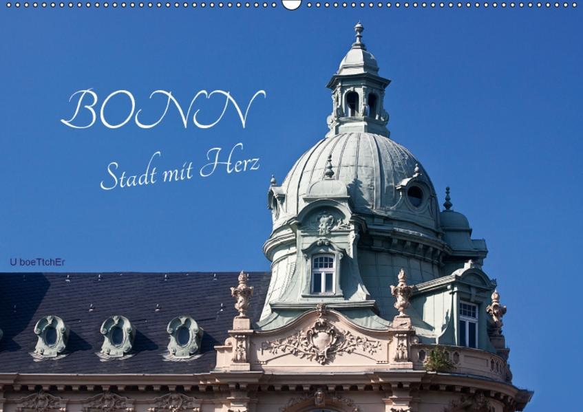 Bonn - Stadt mit Herz (Wandkalender 2017 DIN A2 quer) - Coverbild
