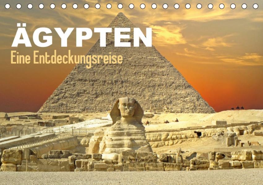 Ägypten - Eine Entdeckungsreise (Tischkalender 2017 DIN A5 quer) - Coverbild