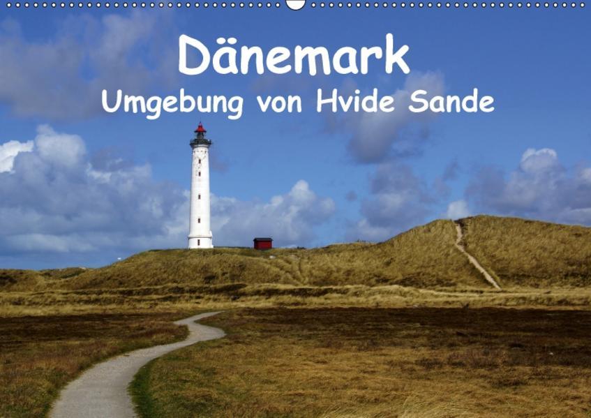 Dänemark - Umgebung von Hvide Sande (Wandkalender 2017 DIN A2 quer) - Coverbild