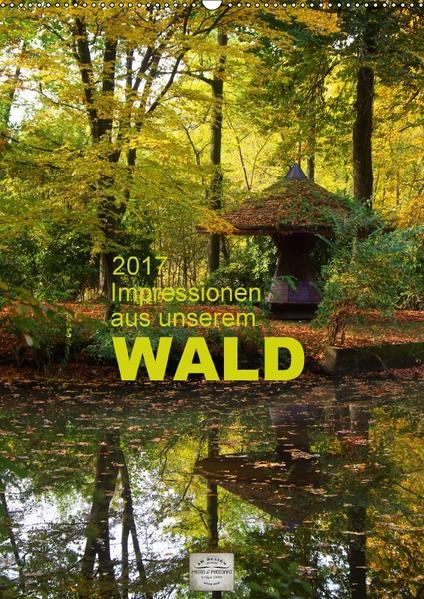 Impressionen aus unserem Wald (Wandkalender 2017 DIN A2 hoch) - Coverbild