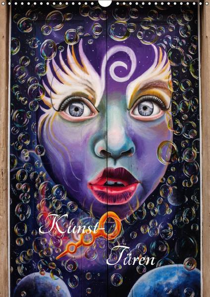 Kunst-Türen (Wandkalender 2017 DIN A3 hoch) - Coverbild
