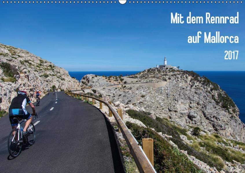 Mit dem Rennrad auf MallorcaAT-Version  (Wandkalender 2017 DIN A2 quer) - Coverbild