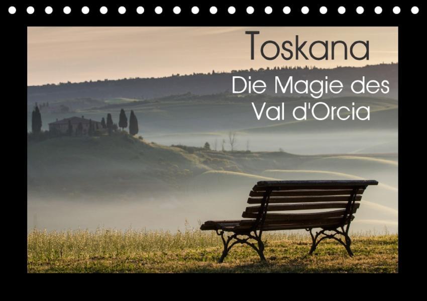 Toskana - Die Magie des Val d'Orcia (Tischkalender 2017 DIN A5 quer) - Coverbild