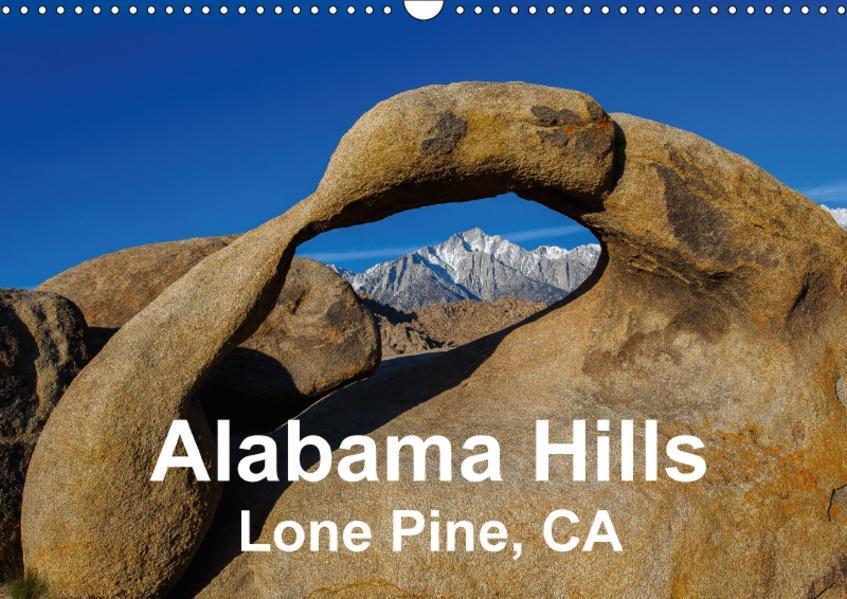 Alabama Hills, Lone Pine, CA (Wandkalender 2017 DIN A3 quer) - Coverbild