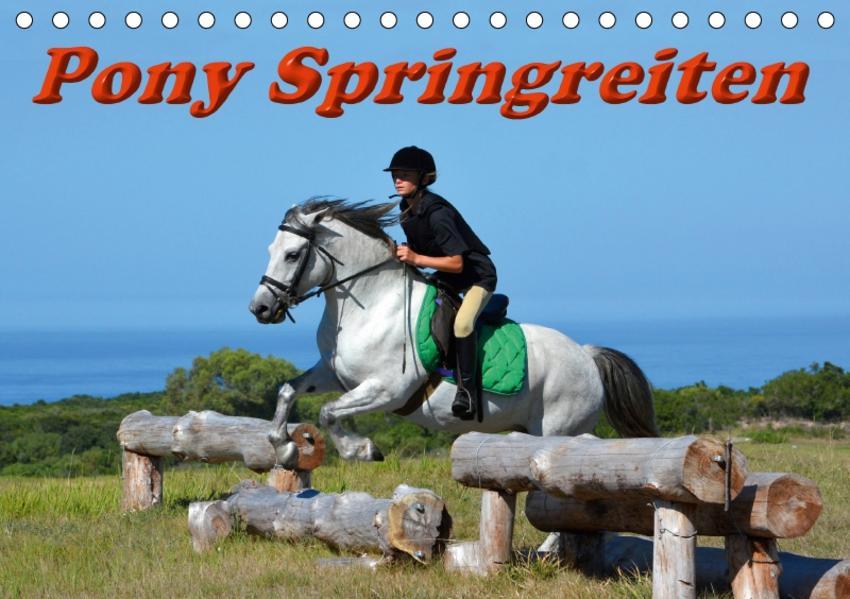 Pony Springreiten (Tischkalender 2017 DIN A5 quer) - Coverbild