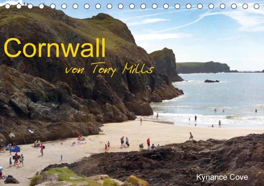 Cornwall von Tony Mills (Tischkalender 2017 DIN A5 quer) - Coverbild