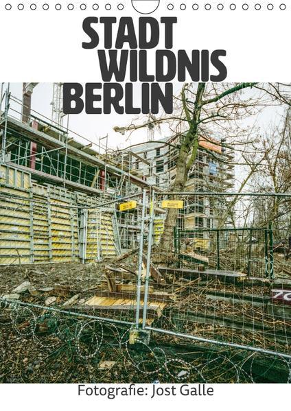STADT WILDNIS BERLIN (Wandkalender 2017 DIN A4 hoch) - Coverbild