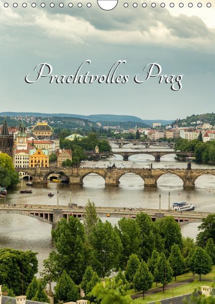 Prachtvolles Prag (Wandkalender 2017 DIN A4 hoch) - Coverbild