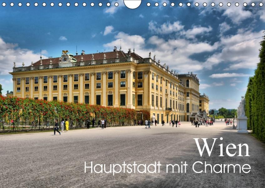 Wien - Haupstadt mit CharmeAT-Version  (Wandkalender 2017 DIN A4 quer) - Coverbild