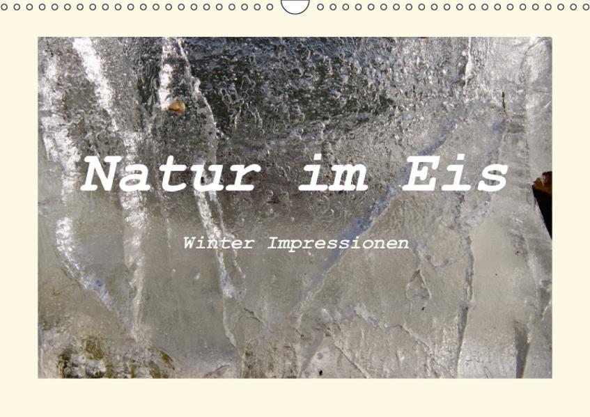 Natur im Eis - Winter Impressionen (Wandkalender 2017 DIN A3 quer) - Coverbild