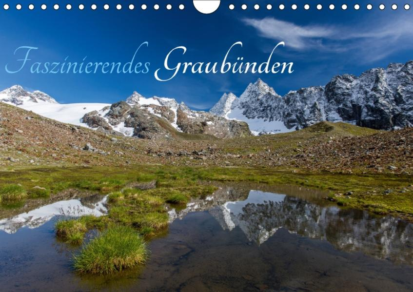 Faszinierendes GraubündenCH-Version  (Wandkalender 2017 DIN A4 quer) - Coverbild
