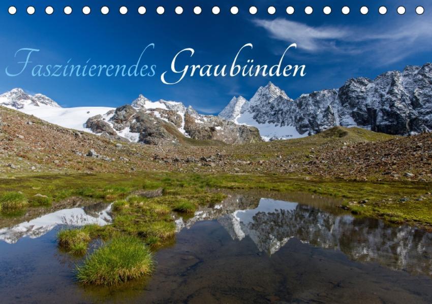 Faszinierendes GraubündenCH-Version  (Tischkalender 2017 DIN A5 quer) - Coverbild