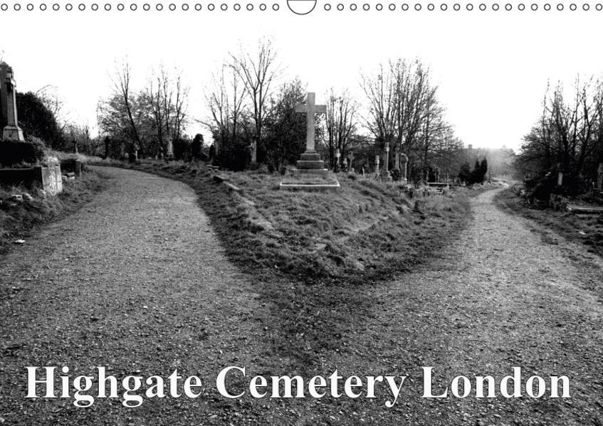 Highgate Cemetery London (Wandkalender 2017 DIN A3 quer) - Coverbild
