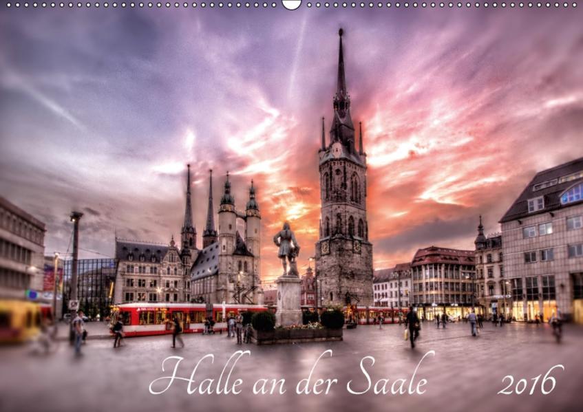 Halle an der Saale 2017 (Wandkalender 2017 DIN A2 quer) - Coverbild