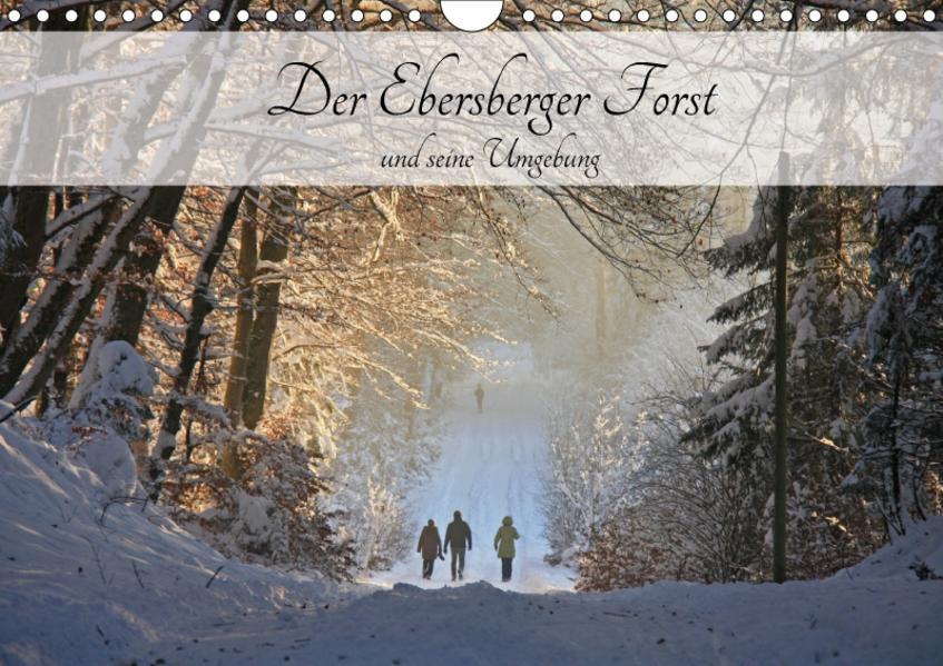 Der Ebersberger Forst und seine Umgebung (Wandkalender 2017 DIN A4 quer) - Coverbild