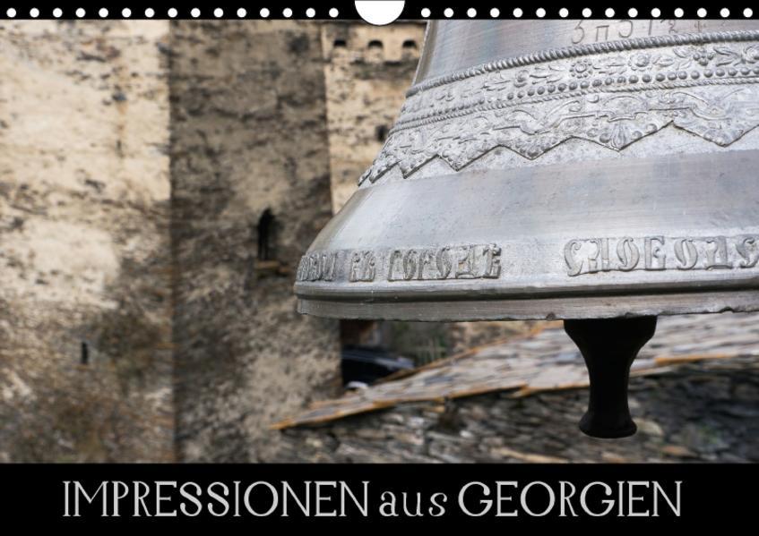 Impressionen aus Georgien (Wandkalender 2017 DIN A4 quer) - Coverbild
