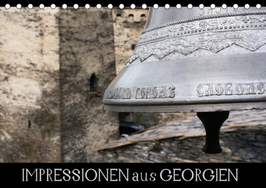Impressionen aus Georgien (Tischkalender 2017 DIN A5 quer) - Coverbild