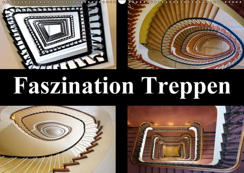 Faszination Treppen (Wandkalender 2017 DIN A2 quer) - Coverbild