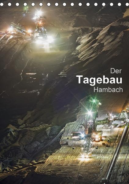 Der Tagebau Hambach (Tischkalender 2017 DIN A5 hoch) - Coverbild