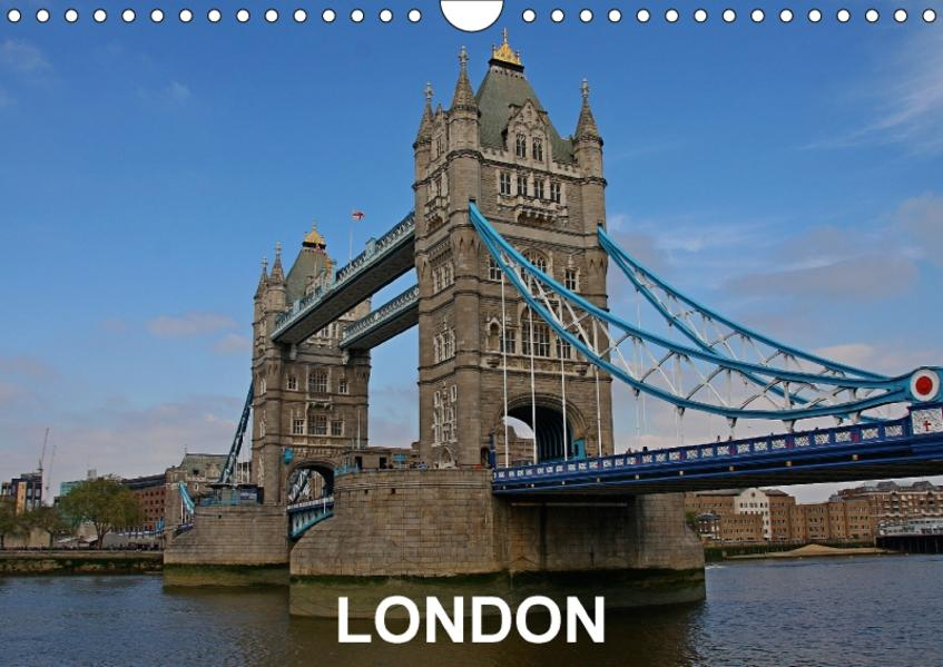 LondonCH-Version  (Wandkalender 2017 DIN A4 quer) - Coverbild