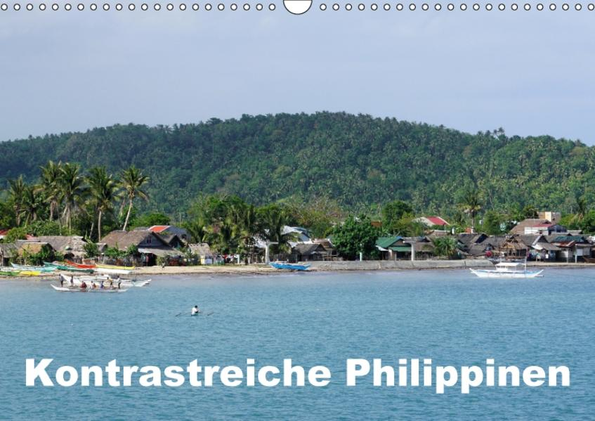 Kontrastreiche Philippinen (Wandkalender 2017 DIN A3 quer) - Coverbild