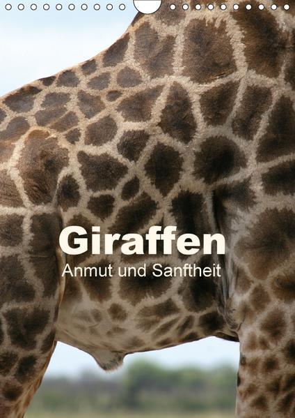 Giraffen - Anmut und Sanftheit (Wandkalender 2017 DIN A4 hoch) - Coverbild
