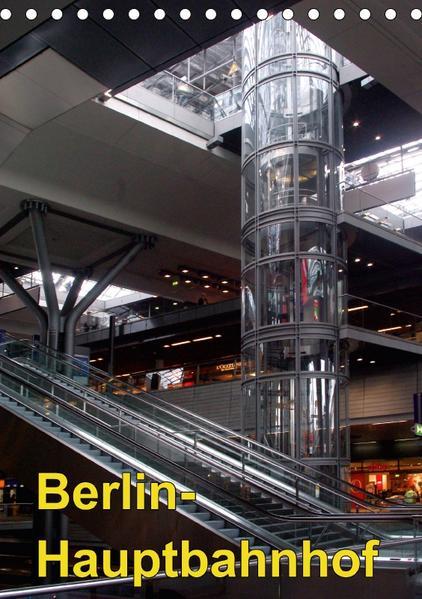 Hauptbahnhof Berlin (Tischkalender 2017 DIN A5 hoch) - Coverbild