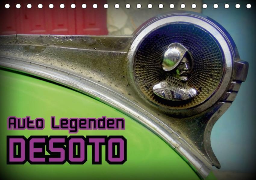 Auto Legenden DESOTO (Tischkalender 2017 DIN A5 quer) - Coverbild