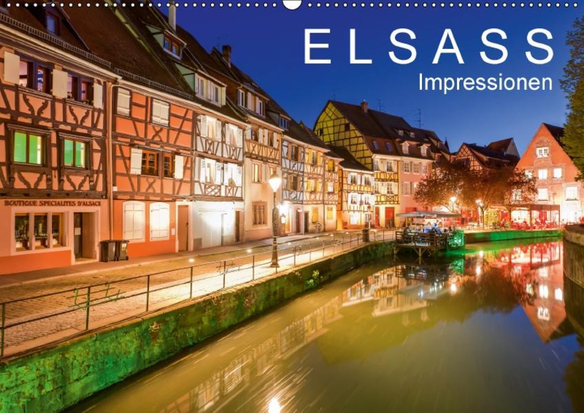 E L S A S S  Impressionen (Wandkalender 2017 DIN A2 quer) - Coverbild