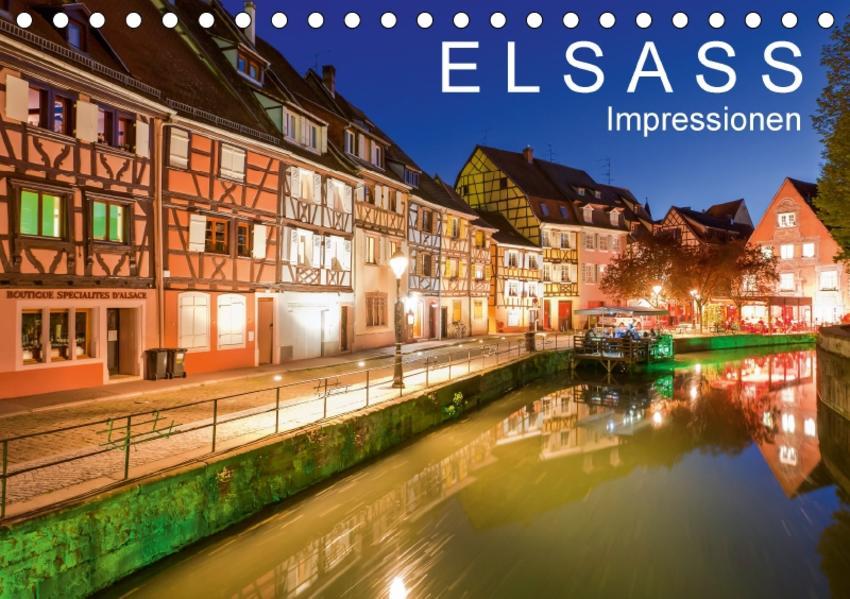 E L S A S S  Impressionen (Tischkalender 2017 DIN A5 quer) - Coverbild