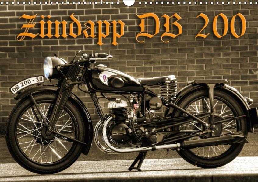 Zündapp DB 200 (Wandkalender 2017 DIN A3 quer) - Coverbild