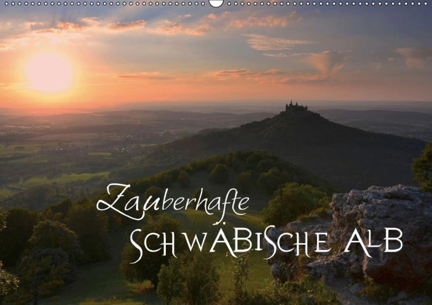 Zauberhafte Schwäbische Alb (Wandkalender 2017 DIN A2 quer) - Coverbild