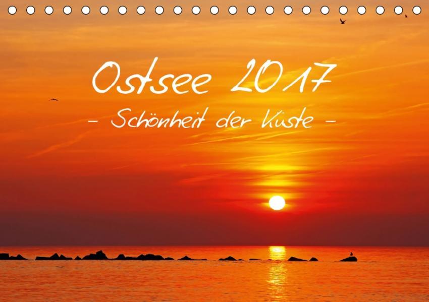 Ostsee 2017 Schönheit der Küste (Tischkalender 2017 DIN A5 quer) - Coverbild