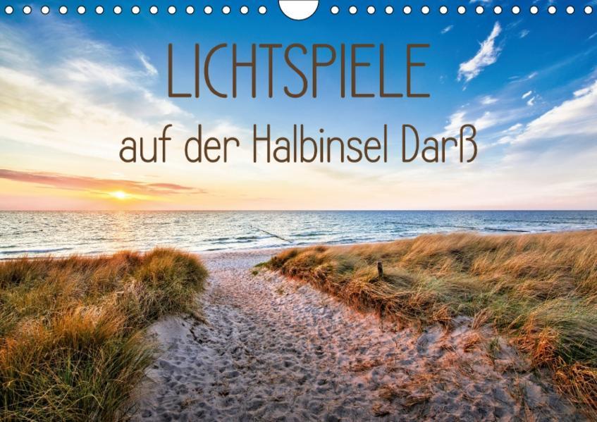 Lichtspiele auf der Halbinsel Darß (Wandkalender 2017 DIN A4 quer) - Coverbild