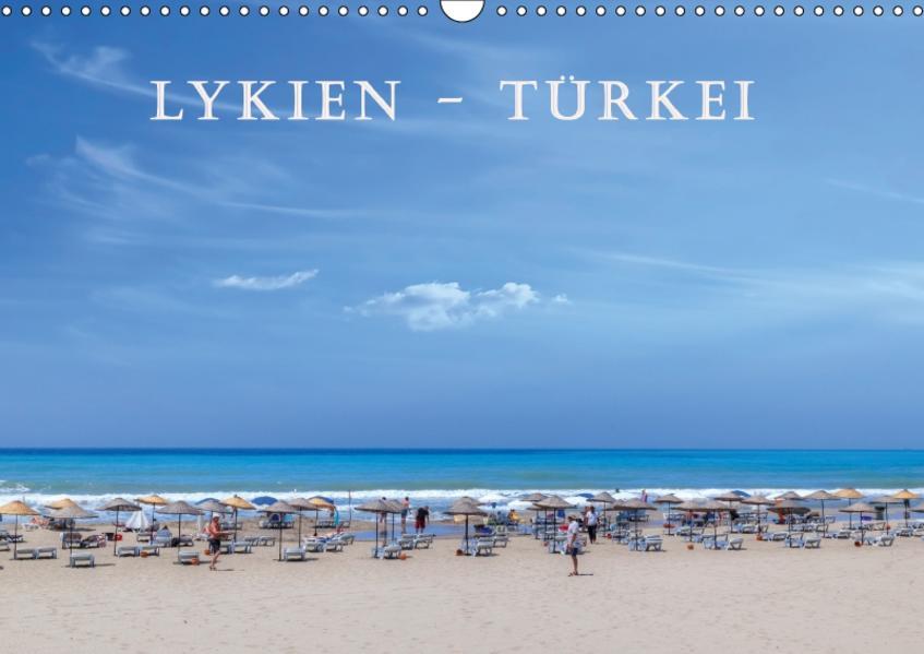 Lykien - Türkei (Wandkalender 2017 DIN A3 quer) - Coverbild
